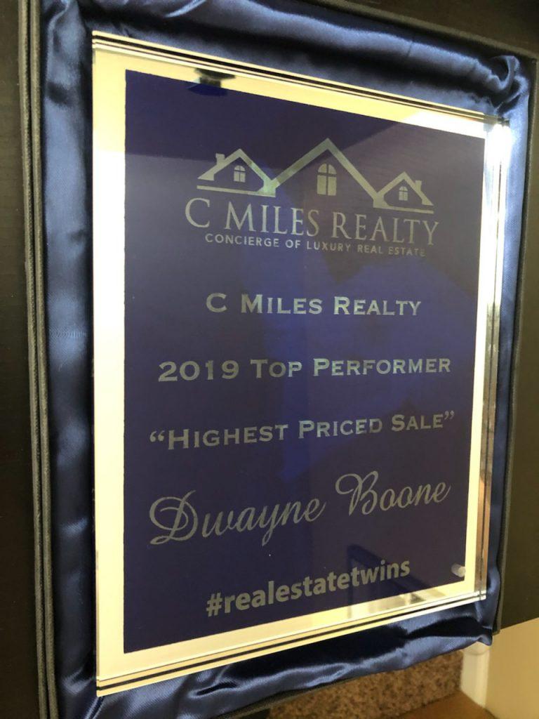 Dwanye Boone - C. Miles Realty
